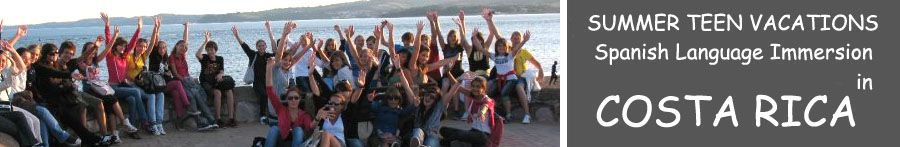 Heredia Costa Rica teenager spanish summer youth Language immersion vacations